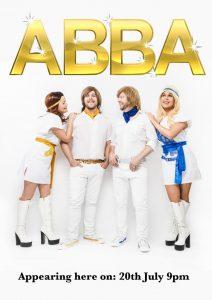 Abba – 20th July, 9pm