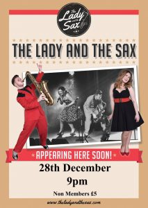 The Lady and The Sax – 28th December