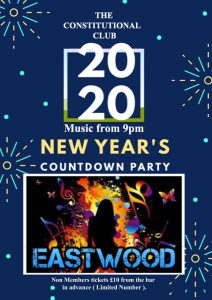 New Years Countdown Party 2020